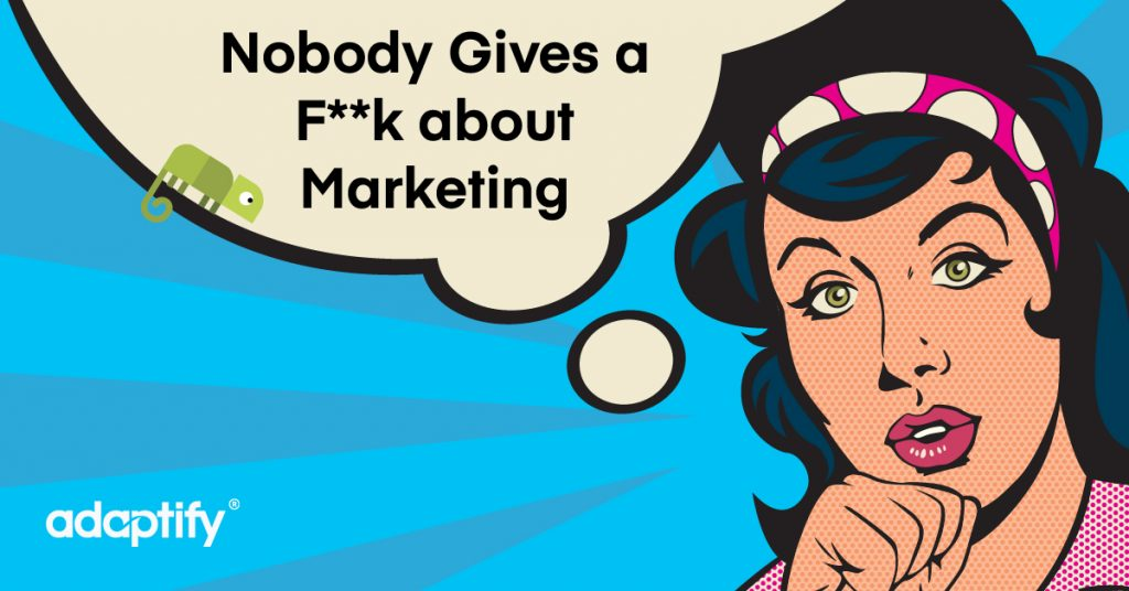 13.0 Nobody cares about marketing 01