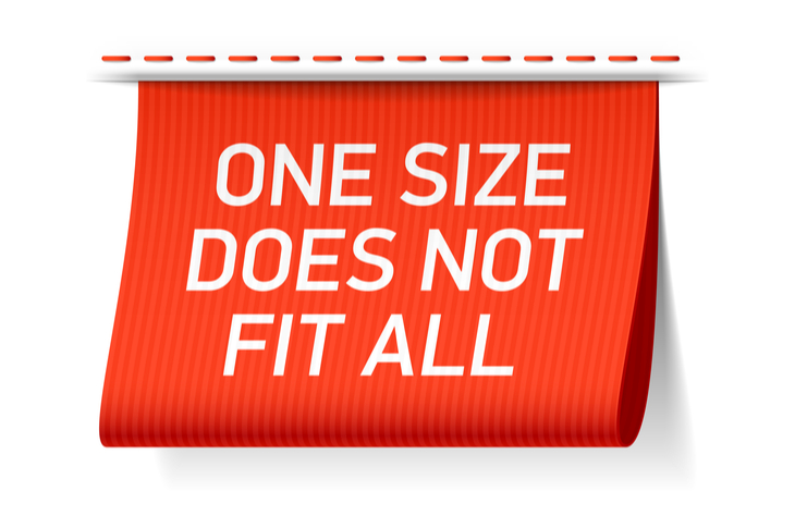 One Size Does Not Fit Fall