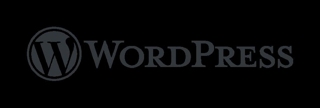 WordPress logotype standard