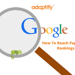 How to reach page on google search rankings