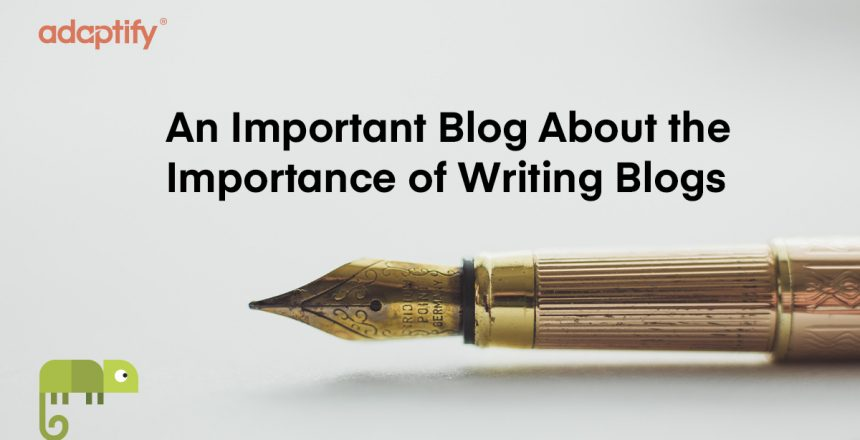 14.0 - Important Blog about blogs