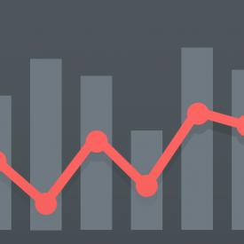 Graph lines bar